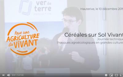Céréales sur Sol Vivant – Journée technique Pour une Agriculture du Vivant